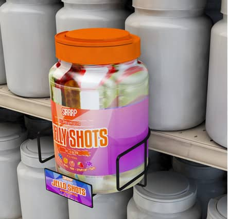 Beverage Jelly Shot Gondola Cup