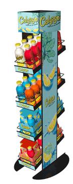 Calypso-Free Standing Merchandiser