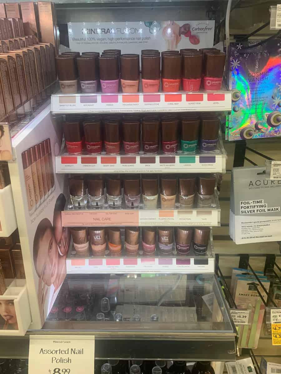 Cosmetics Mineral Fusion 5